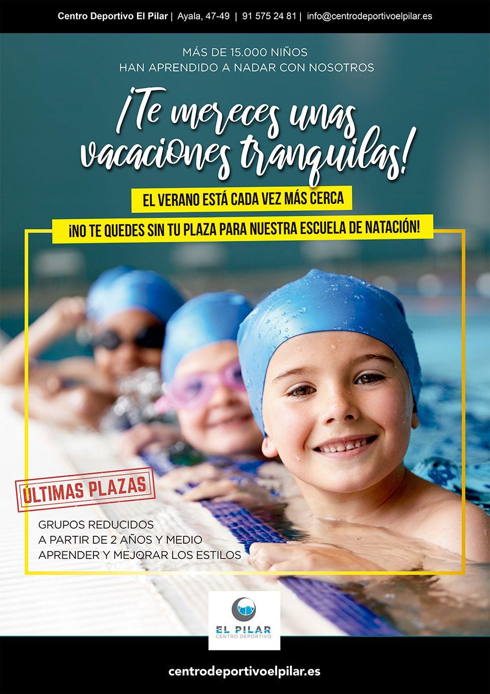 Clases de natación en el Barrio Salamanca y Madrid